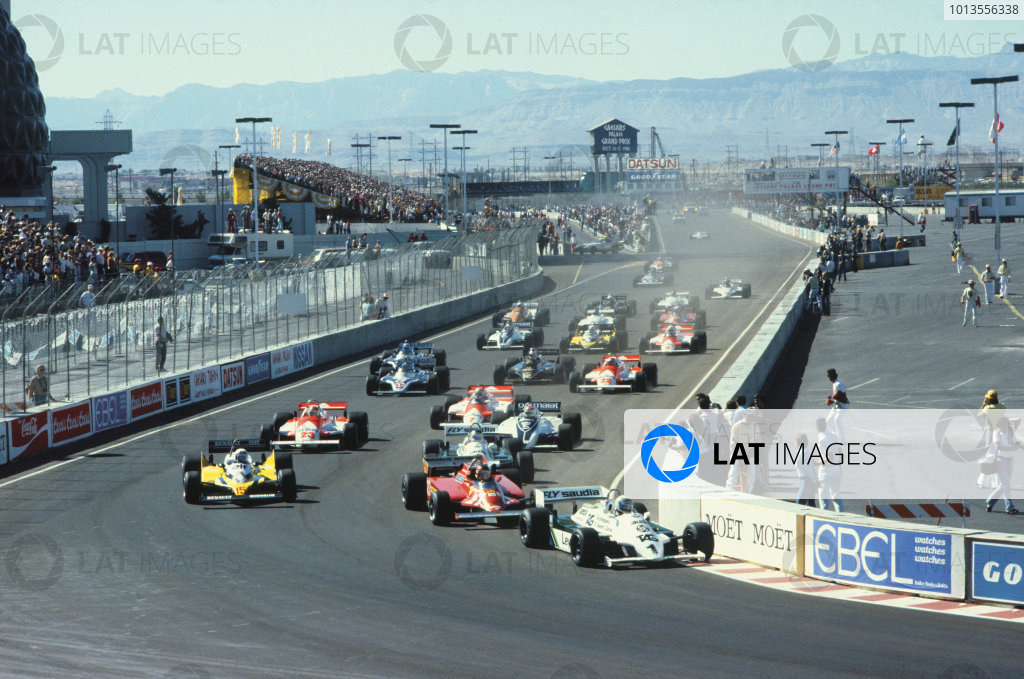 Caesar's Palace, Las Vegas, Nevada, USA. 15-17 October 1981.
