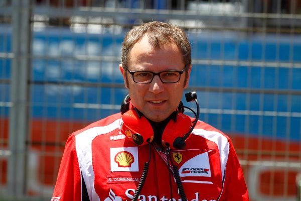 Valencia Street Circuit, Valencia, Spain26th June 2011.Stefano Domenicali, Team Principal, Ferrari. Portrait. World copyright: Steven Tee/LAT Photographicref: Digital Image _A8C7452