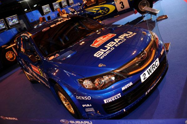 NEC, Birmingham. 8th January 2009.Subaru Impreza WRC.World Copyright: Jeff Bloxham/LAT Photographicref: Digital Image DSC_4998