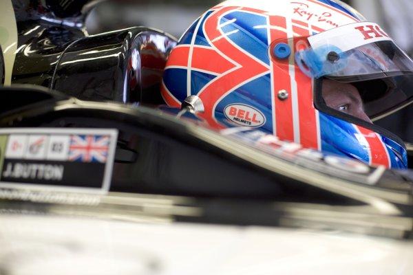 2005 Belgian Grand Prix - Friday Practice, Spa-Francorchamps, Belgium. 9th  September 2005 Jenson Button, BAR Honda 007, Portrait.  World Copyright: Steven Tee/LAT Photographic  ref:Digital Image Only 48 mb file