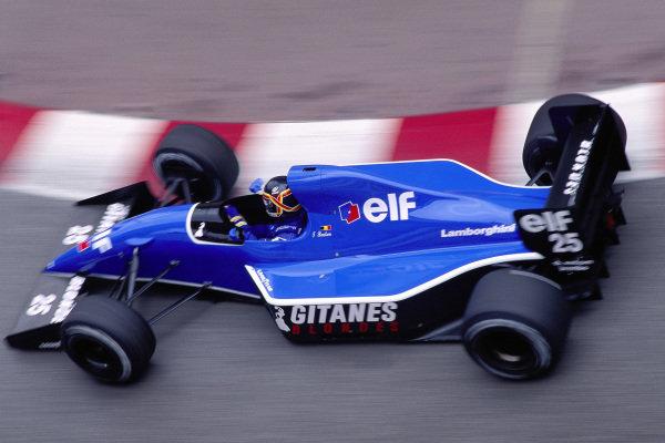 Thierry Boutsen, Ligier JS35 Lamborghini.