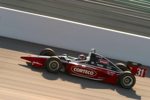 2003 IRL IndyCar Kansas, Kansas Speedway, Kansas City, Kansas, 4-6 July, 2003.Al Unser, Jr.World copyright: Phillip Abbott/USA.LAT Photographic.