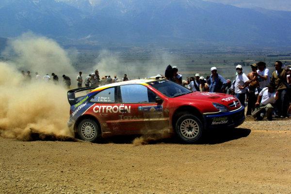 Colin McRae Citroen Xsara WRC, Acropolis Rally 2003.Photo: McKlein/LAT