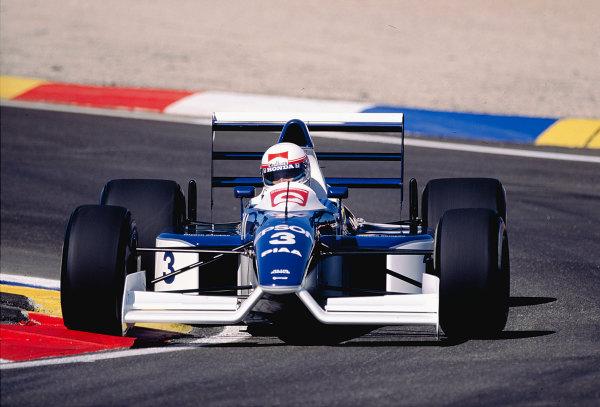 1990 French Grand Prix.Paul Ricard, Le Castellet, France.6-8 Julyh 1990.Satoru Nakajima (Tyrrell 019 Ford).Ref-90 FRA 26.World Copyright - LAT Photographic