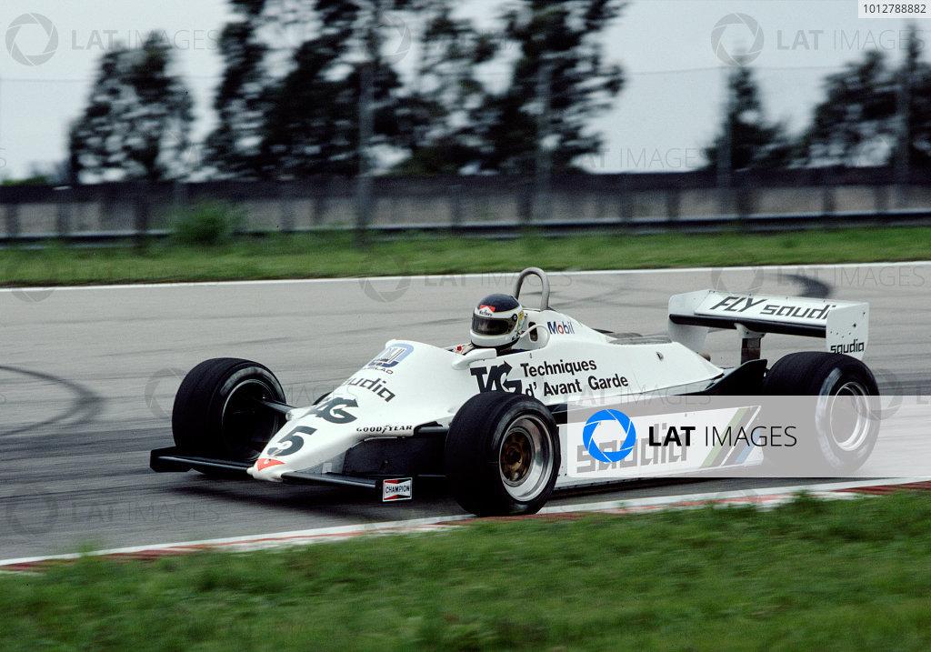 1982 Brazilian Grand Prix.