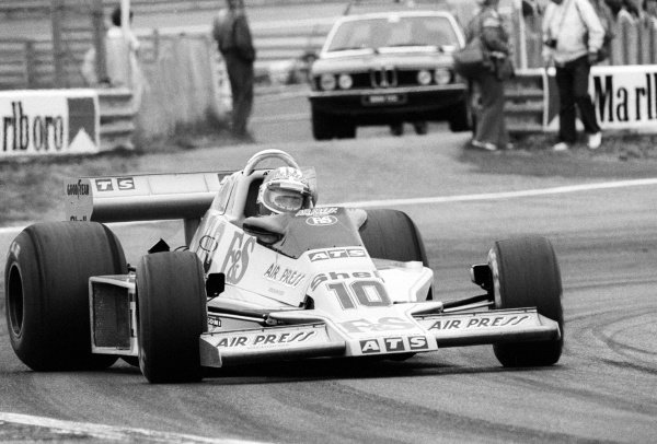 Michael Bleekemolen (NED) ATS HS1 failed to qualify on his debut GP appearance.Dutch Grand Prix, Rd 13, Zandvoort, Holland, 27 August 1978.