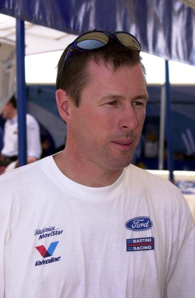 2001 World Rally ChampionshipCyprus Rally, June 1-3, 2001Colin McRae in shakedown service areaPhoto: Ralph Hardwick/LAT