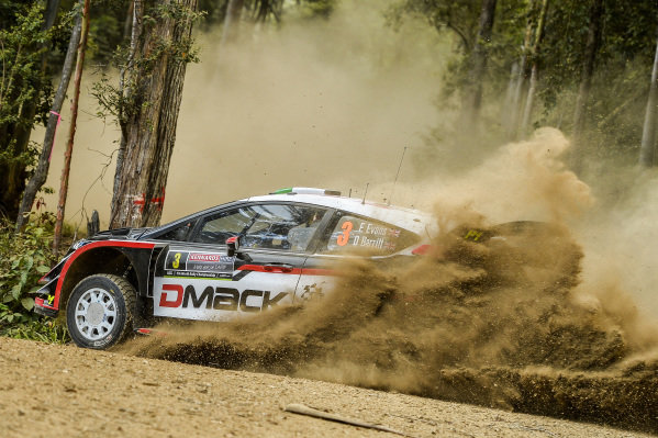 Elfyn Evans (GBR) / Daniel Barritt (GBR), M-Sport World Rally Team Ford Fiesta WRC at World Rally Championship, Rd13, Rally Australia, Preparations and Shakedown, Coffs Harbour, New South Wales, Australia, 16 November 2017.