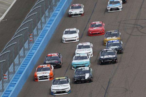 #11: Justin Haley, Kaulig Racing, Chevrolet Camaro LeafFilter Gutter Protection and #19: Brandon Jones, Joe Gibbs Racing, Toyota Supra Juniper