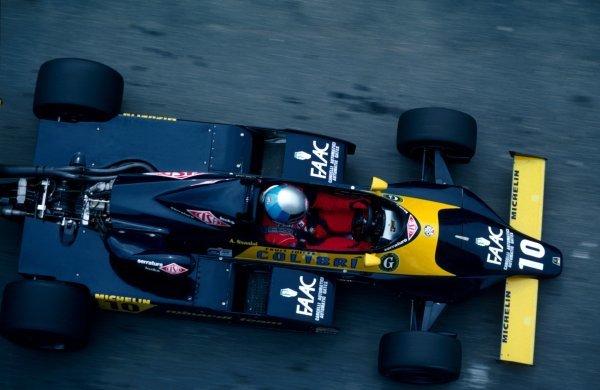 Alessandro Nannini (ITA), Minardi. European Formula Two Championship, 1983.