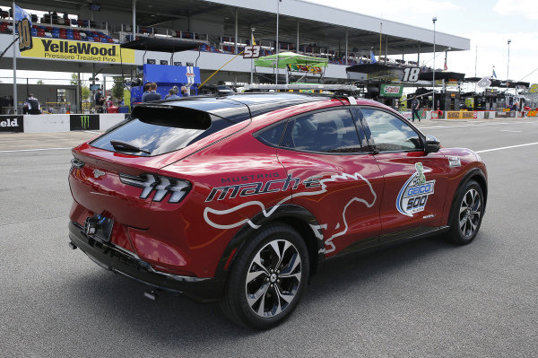 Ford Mustang Mach-E Pace Car Talladega Superspeedway