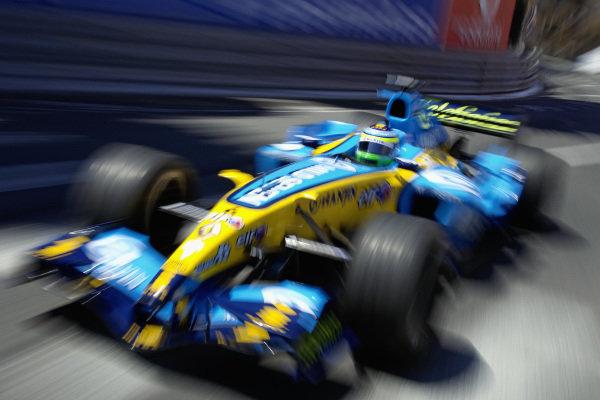 Giancarlo Fisichella, Renault R25.