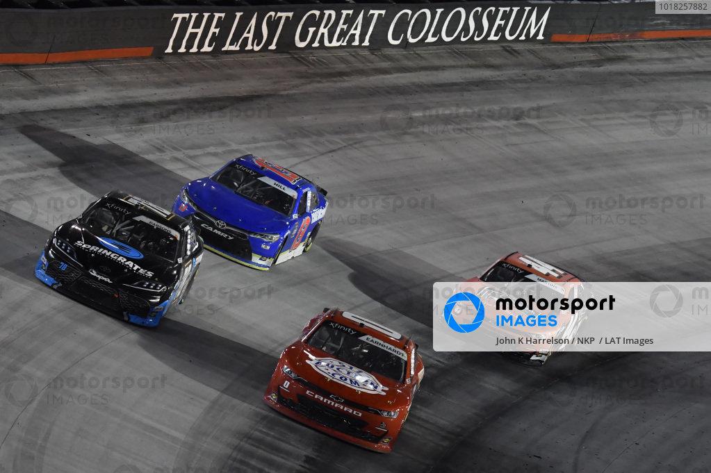 #0: Jeffrey Earnhardt, JD Motorsports, Chevrolet Camaro TeamJDMotorsports.com, #78: Stefan Parsons, B.J. McLeod Motorsports, Toyota Supra Springrates
