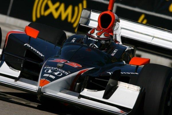 AJ Foyt IV (USA), Vision Racing Dallara Honda.IRL IndyCar Series, Rd16, Detroit Indy Grand Prix, Raceway at Belle Isle, Detroit, MI, USA. 31 August - 2 September 2007.