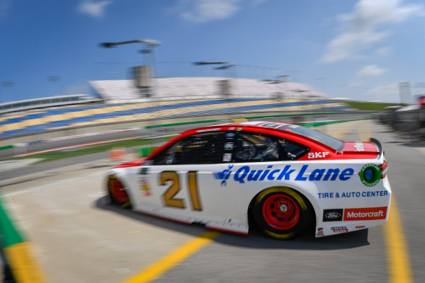 Monster Energy NASCAR Cup Series Quaker State 400 Kentucky Speedway, Sparta, KY USA Friday 7 July 2017 Ryan Blaney, Wood Brothers, Motorcraft/Quick Lane Tire & Auto Center Ford Fusion World Copyright: Logan Whitton LAT Images