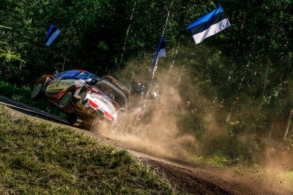 2017 FIA World Rally Championship, Round 09, Rally Finland / July 27 - 30, 2017, Juho Hanigen, Toyota, action, Worldwide Copyright: McKlein/LAT