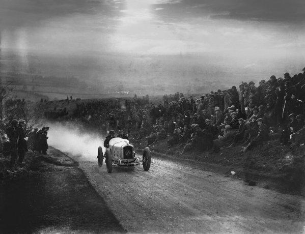 Kop Hill. March 1924 Louis Zborowski (Ballot) Ref: Autocar Glass Plate A2775 World Copyright: LAT Photographic
