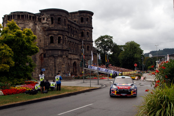 Round 09-Rallye Deutschland 23-26/8-2012.Mikko Hirvonen, Citroen WRC, Action.Worldwide Copyright: McKlein/LAT