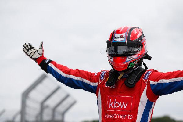 2015 GP3 Series Round 3.  Silverstone, Northamptonshire, England. Sunday 5 July 2015. Kevin Ceccon (ITA, Arden International)  Photo:  Sam Bloxham/GP3 Media Service ref: Digital Image _SBL0843