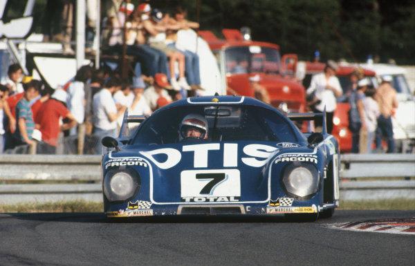 1981 Le Mans 24 Hours. Le Mans, France. 13th - 14th June 1981. Francois Migault / Gordon Spice (Rondeau M379C Ford), 3rd position, action.   World Copyright: LAT Photographic. Ref: 81LM17.