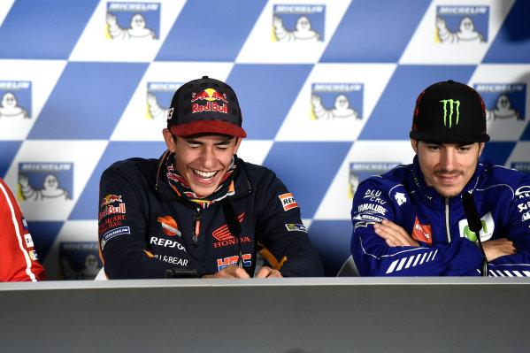 2017 MotoGP Championship - Round 16 Phillip Island, Australia. Thursday 19 October 2017 Marc Marquez, Repsol Honda Team World Copyright: Gold and Goose / LAT Images ref: Digital Image 698177