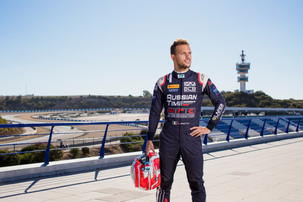 2017 FIA Formula 2 Round 10. Circuito de Jerez, Jerez, Spain. Thursday 5 October 2017. Luca Ghiotto (ITA, RUSSIAN TIME).  Photo: Zak Mauger/FIA Formula 2. ref: Digital Image _56I3863