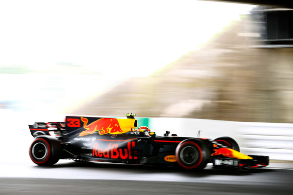 Suzuka Circuit, Japan. Saturday 07 October 2017. Max Verstappen, Red Bull Racing RB13 TAG Heuer. World Copyright: Steven Tee/LAT Images  ref: Digital Image _O3I7442