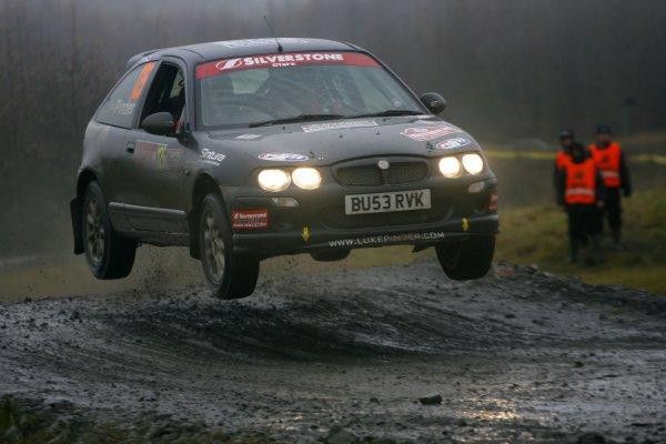 2007 British Rally ChampionshipWales Rally GB, 30thNovember  - 2nd December 2007,Luke PinderWorld Copyright: Ebrey/LAT Photographic