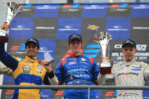 Spa-Francorchamps, Belgium. 28th - 30th July 2011. 