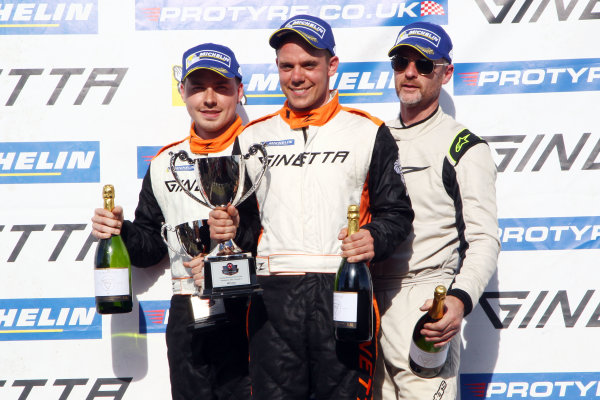 2017 Ginetta GRDC  Snetterton, 27th-28th May 2017, Tom Golding wins World copyright. JEP/LAT Images
