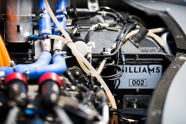 2016/2017 FIA Formula E Championship. Mexico City, Mexico Thursday 30 March 2017. Formula E Williams Technology. Photo: Sam Bloxham/LAT/Formula E ref: Digital Image _W6I5784