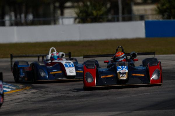 2017 IMSA Prototype Challenge Sebring International Raceway, Sebring, FL USA Friday 17 March 2017 32, Paul La Haye, MPC, Elan DP-02 World Copyright: Jake Galstad/LAT Images ref: Digital Image lat-galstad-SIR-0317-15017