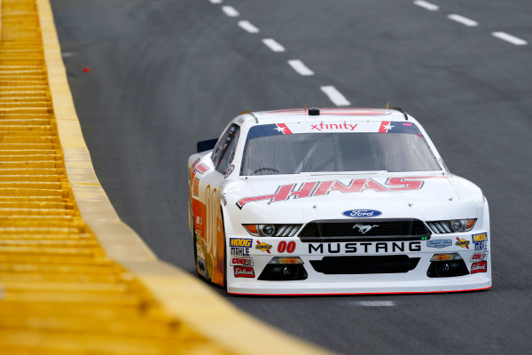NASCAR Xfinity Series Hisense 4K TV 300 Charlotte Motor Speedway, Concord, NC USA Thursday 25 May 2017 Cole Custer, Haas Automation Chevrolet Camaro World Copyright: Lesley Ann Miller LAT Images