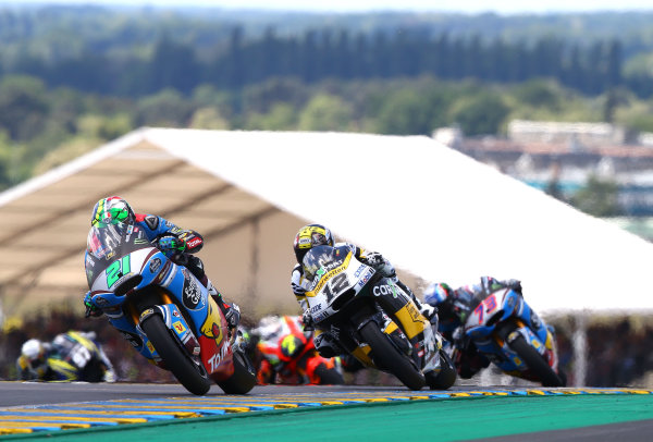 2017 Moto2 Championship - Round 5 Le Mans, France Sunday 21 May 2017 Franco Morbidelli, Marc VDS World Copyright: Gold & Goose Photography/LAT Images ref: Digital Image 671682