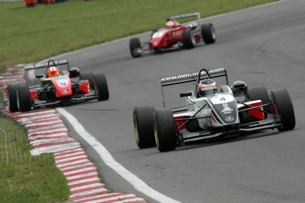 2007 British Formula Three ChampionshipBrands Hatch, England 14th -  15th July 2007,Mario Moraes (BRA) - Carlin Motorsport Dallara MercedesWorld Copyright: Jakob Ebrey/LAT Photographic.