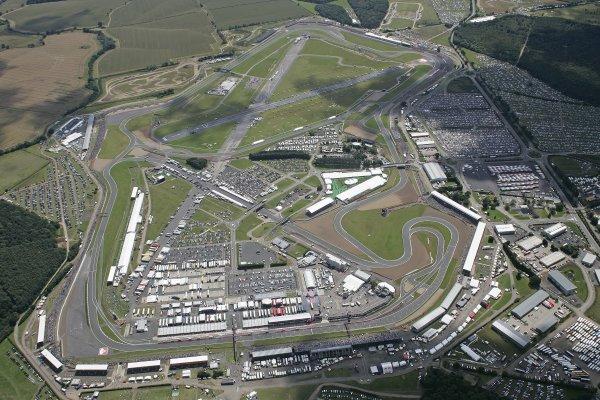 FIA Formula 1 World ChampionshipRound 9British Grand PrixSilverstone8th July 2007Aerial view, AtmosphereWorldwide Copyright: Colin McMaster/LAT