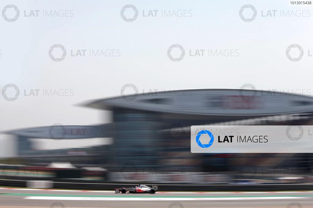 Shanghai International Circuit, Shanghai, China Saturday 13th April 2013 Jenson Button, McLaren MP4-28 Mercedes.  World Copyright: Glenn Dunbar/LAT Photographic ref: Digital Image _89P6300