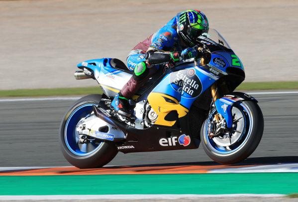2017 MotoGP Championship - Valencia test, Spain. Tuesday 14 November 2017 Franco Morbidelli, Estrella Galicia 0,0 Marc VDS World Copyright: Gold and Goose / LAT Images ref: Digital Image 706850