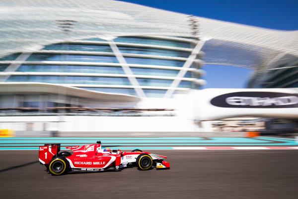 2017 FIA Formula 2 Round 11. Yas Marina Circuit, Abu Dhabi, United Arab Emirates. Friday 24 November 2017. Charles Leclerc (MCO, PREMA Racing).  Photo: Sam Bloxham/FIA Formula 2. ref: Digital Image _J6I1416