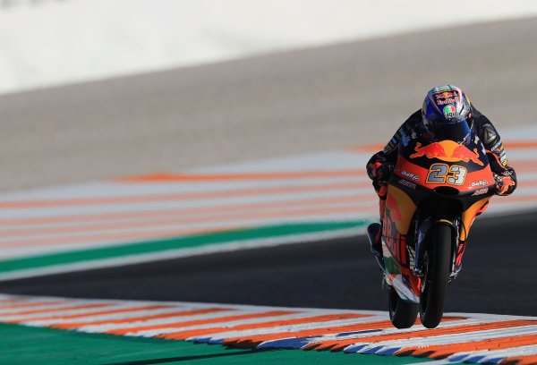 2017 Moto3 Championship - Round 18 Valencia, Spain  Friday 10 November 2017 Niccolo Antonelli, Red Bull KTM Ajo  World Copyright: Gold and Goose Photography/LAT Images  ref: Digital Image 704571