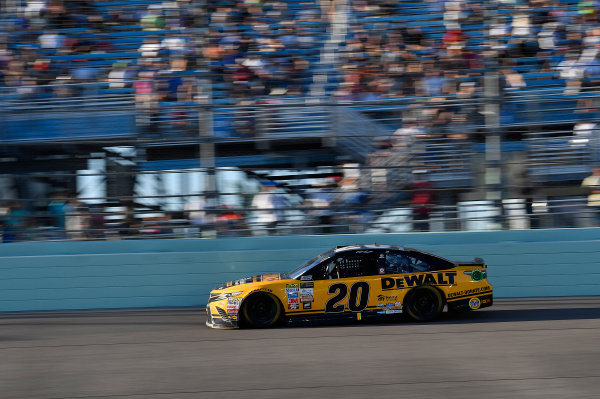 Monster Energy NASCAR Cup Series Ford EcoBoost 400 Homestead-Miami Speedway, Homestead, FL USA Sunday 19 November 2017 Matt Kenseth, Joe Gibbs Racing, DEWALT Hurricane Recovery Toyota Camry World Copyright: Rusty Jarrett LAT Images