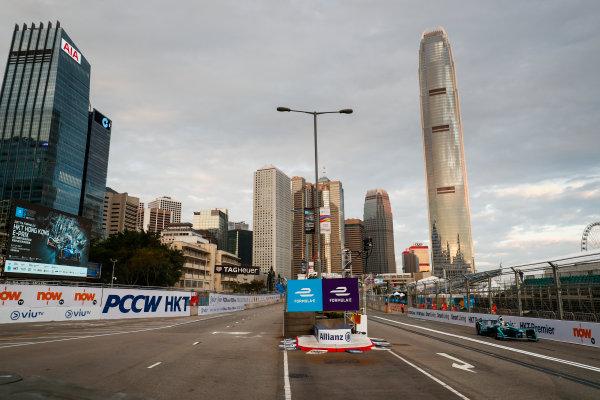 2017/2018 FIA Formula E Championship. Round 1 - Hong Kong, China. Saturday 02 December 2017. Antonio Felix Da Costa (POR), MS + AD Andretti Formula E, Andretti ATEC-03. Photo: Sam Bloxham/LAT/Formula E ref: Digital Image _J6I3774