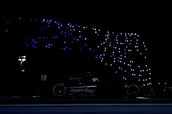 2017 FIA Formula 2 Test 3. Yas Marina Circuit, Abu Dhabi, United Arab Emirates. Friday 1 December 2017. Rene Binder (AUT, Rapax).  Photo: Zak Mauger/FIA Formula 2. ref: Digital Image _56I9240