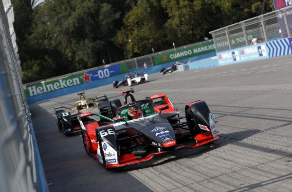 Daniel Abt (DEU), Audi Sport ABT Schaeffler, Audi e-tron FE06 and Antonio Felix da Costa (PRT), DS Techeetah, DS E-Tense FE20