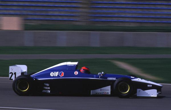 F3000 Testing. Silverstone, England. 22-23/3/2000. Franck Montagny, DAMS. photo: World - LAT Photographic