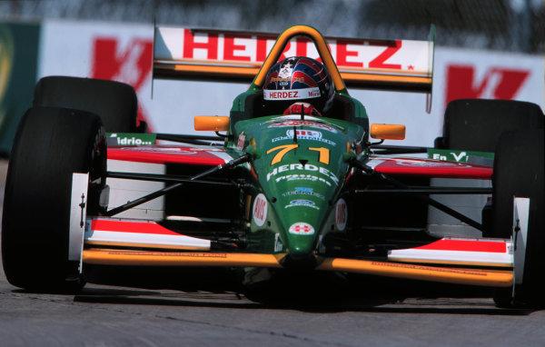 1999 CART Detroit Grand Prix, Detroit, Michigan, USA.8/8/99 -Phillip Abbott, USA.Memo Gidley drove a second Herdez sponsored Lola for Payton-Coyne Racing at Detroit.LAT PHOTOGRAPHIC