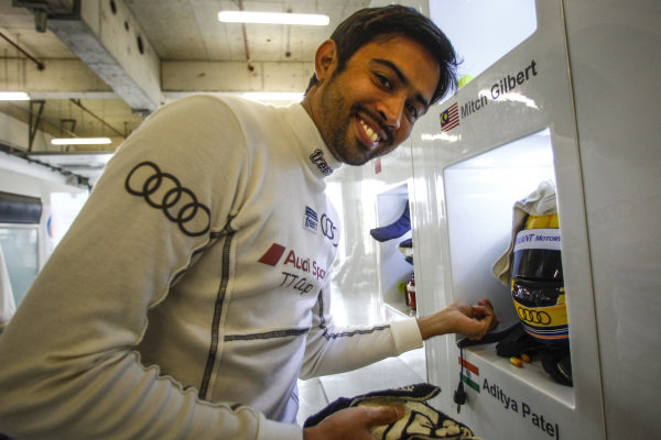 Aditya Patel, OD Racing Team Blancpain GT Series Asia, Rd9 and Rd10, Shanghai, China, 23-24 September 2017.