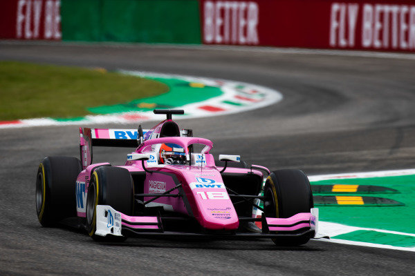 AUTODROMO NAZIONALE MONZA, ITALY - SEPTEMBER 06: Tatiana Calderon (COL, BWT ARDEN) during the Monza at Autodromo Nazionale Monza on September 06, 2019 in Autodromo Nazionale Monza, Italy. (Photo by Joe Portlock / LAT Images / FIA F2 Championship)