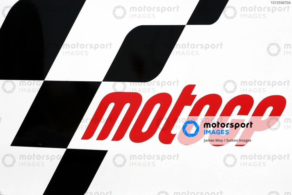 The Motogp logo.Moto GP Championship, Spanish Grand Prix, Jerez, Spain. 24 March 2007 DIGITAL IMAGE