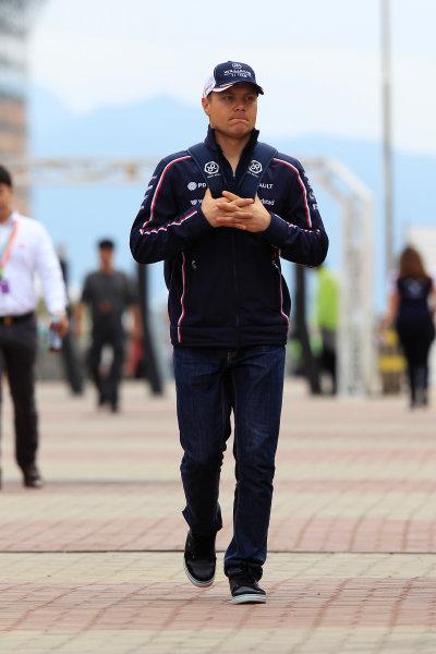 Korea International Circuit, Yeongam-Gun, South Korea. Sunday 6th October 2013. Valtteri Bottas, Williams F1. World Copyright: Charles Coates/LAT Photographic. ref: Digital Image _X5J0559